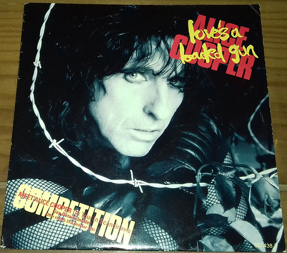 "Alice Cooper  - Love's A Loaded Gun (7"", Single, ""Co) (Epic)"