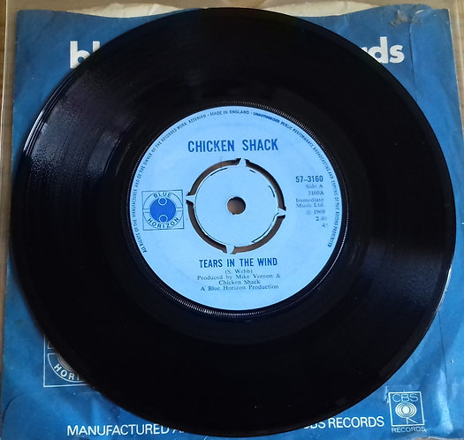 "Chicken Shack - Tears In The Wind (7"", Single) (Blue Horizon)"