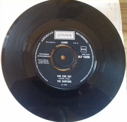 "The Chiffons - One Fine Day (7"", Single) (London Records, London American Record"