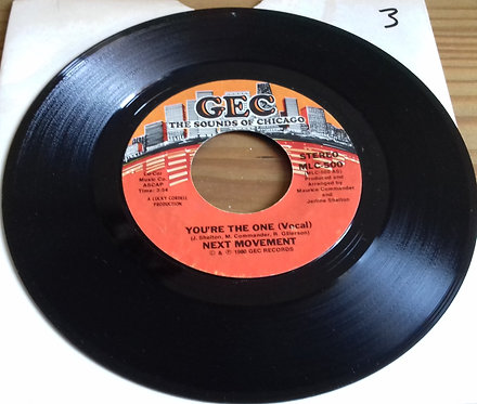 "Next Movement* - You're The One (7"", Styrene) (GEC)"