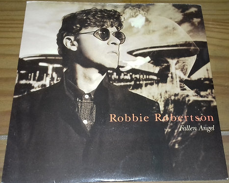 "Robbie Robertson - Fallen Angel (7"") (Geffen Records, Geffen Records, Geffen Rec"