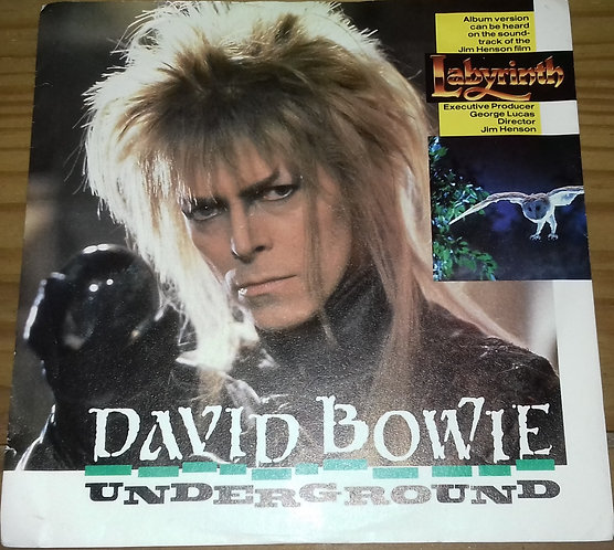 "David Bowie - Underground (7"", Single, M/Print) (EMI America)"