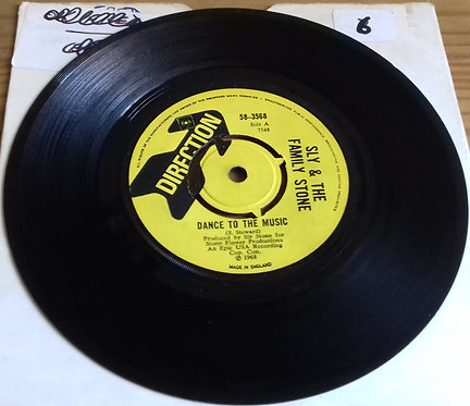 "Sly & The Family Stone - Dance To The Music (7"", Single, 4-p) (Direction)"
