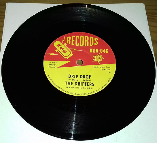"""The Drifters / The """"5"""" Royales* - Drip Drop / Catch That Teardrop (7"""") (Outta Si"""