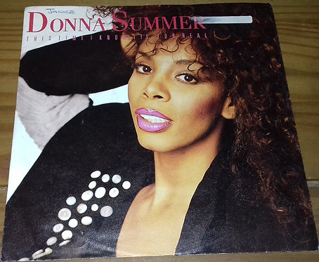 "Donna Summer - This Time I Know It's For Real (7"", Single) (Warner Bros. Records"