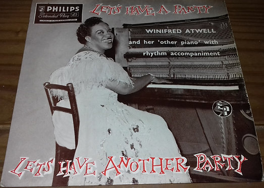 """Winifred Atwell - Let's Have A Party / Let's Have Another Party (7"""", EP) (Philip"""