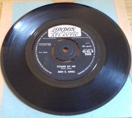 """Ben E. King - Stand By Me (7"""", O/T) (London Records, London American Recordings,"""