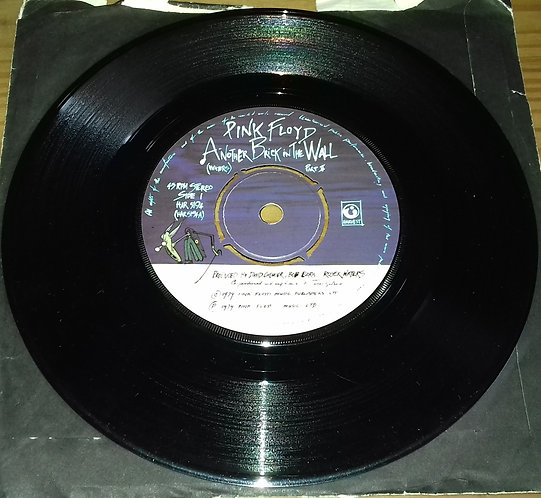 """Pink Floyd - Another Brick In The Wall (Part II) (7"""", Single) (Harvest)"""