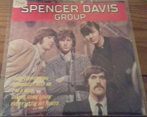 """The Spencer Davis Group - Spencer Davis Group (7"""", EP, Comp, 4-P) (Island Record"""