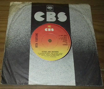 """Rita Fortune - Sisters And Brothers (7"""", Single) (CBS)"""