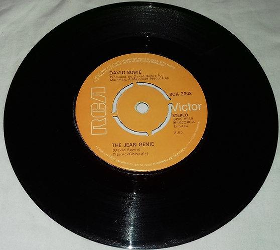 """David Bowie - The Jean Genie (7"""", Single, Kno) (RCA)"""