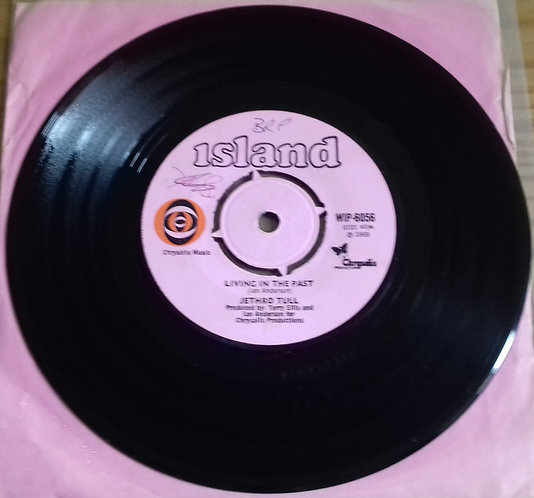 """Jethro Tull - Living In The Past (7"""", Single, 4-p) (Island Records)"""