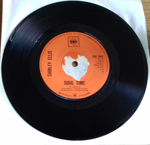 "Shirley Ellis - Soul Time (7"", Single, Sol) (CBS)"