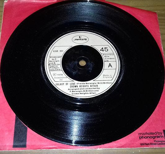 "Crown Heights Affair - Galaxy Of Love (7"", Single, Inj) (Mercury)"