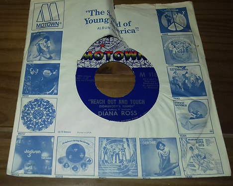 """Diana Ross - Reach Out And Touch (Somebody's Hand) (7"""", Single, Ame) (Motown)"""