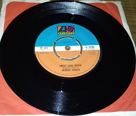 "Arthur Conley - Sweet Soul Music / Let's Go Steady (7"", Single, RE, Kno) (Atlant"