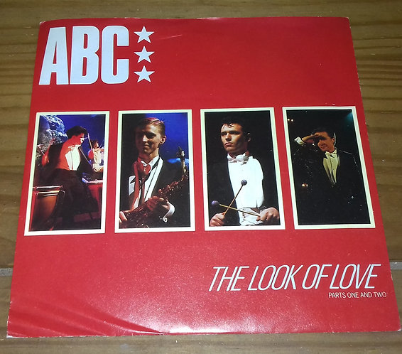 """ABC - The Look Of Love (Parts One And Two) (7"""", Single, Red) (Neutron Records)"""