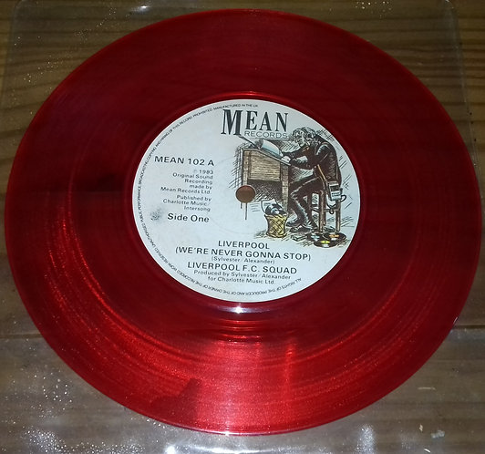 """Liverpool F.C. - Liverpool (Anthem) (7"""", Red) (Mean Records)"""