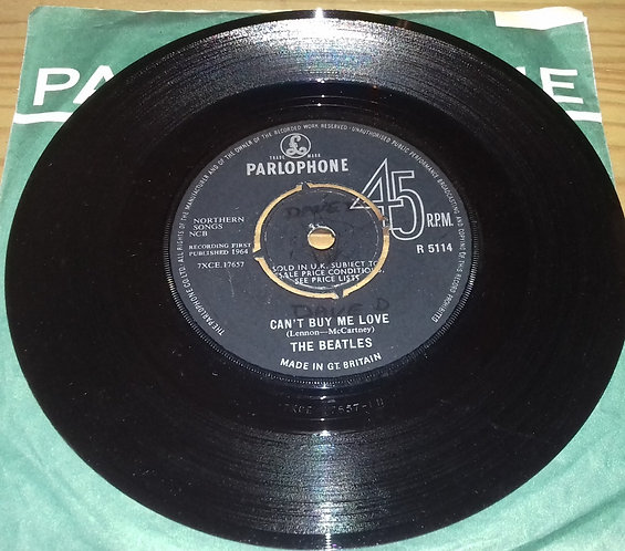"The Beatles - Can't Buy Me Love (7"", Single, 4 P) (Parlophone)"