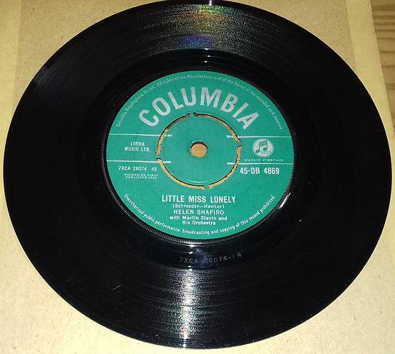 "Helen Shapiro - Little Miss Lonely (7"", Single) (Columbia)"