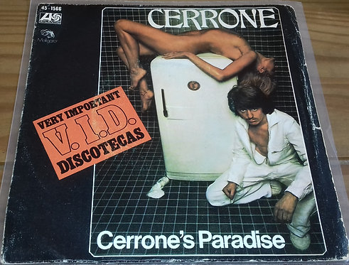 "Cerrone - Cerrone's Paradise (7"", Single) (Atlantic, Hispavox)"