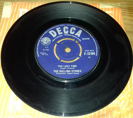 """The Rolling Stones - The Last Time (7"""", Single, Pus) (Decca)"""
