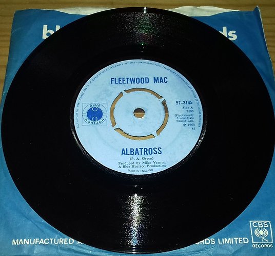 "Fleetwood Mac - Albatross (7"", Single, Mono, 4 P) (Blue Horizon)"