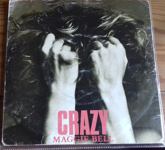"""Maggie Bell - Crazy (7"""", Single) (Swan Song, Swan Song)"""