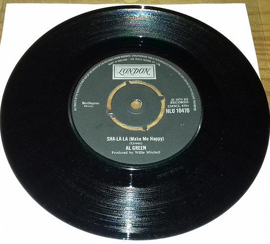 "Al Green - Sha-la-la (Make Me Happy) (7"", Single, Dou) (London Records)"