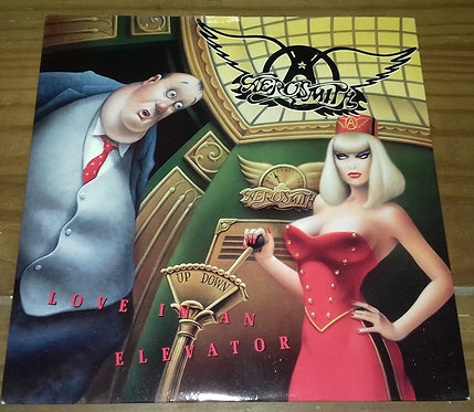 "Aerosmith - Love In An Elevator (7"", Single, No ) (Geffen Records, Geffen Record"