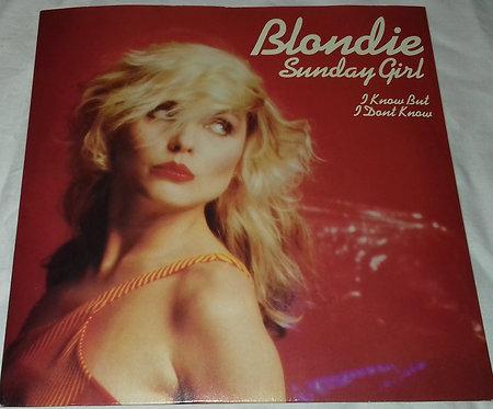 "Blondie - Sunday Girl (7"", Single, Blu) (Chrysalis)"