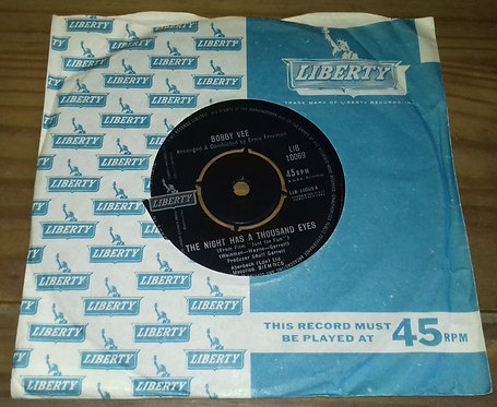 "Bobby Vee - The Night Has A Thousand Eyes (7"", Single) (Liberty)"