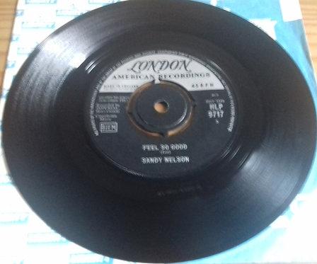 "Sandy Nelson - Feel So Good (7"") (London Records, London American Recordings)"