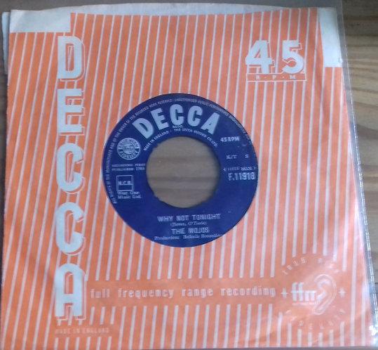 """The Mojos - Why Not Tonight (7"""", Single) (Decca)"""