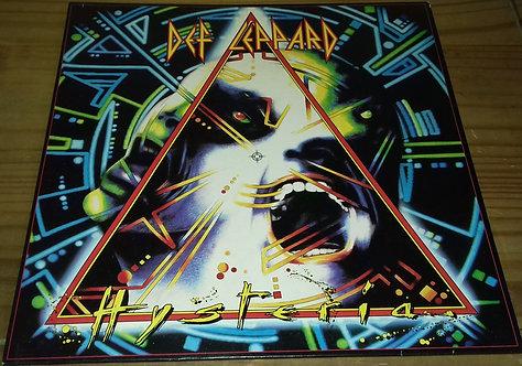 Def Leppard - Hysteria (LP, Album) (Bludgeon Riffola, Phonogram)