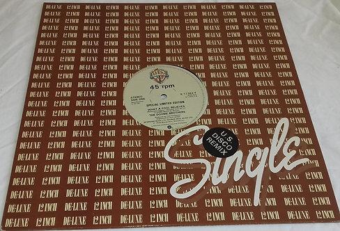 """The Doobie Brothers - What A Fool Believes (12"""", Single, Ltd, Ge) (Warner Bros."""