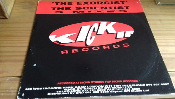 """The Scientist - The Exorcist (12"""") (Kickin Records)"""