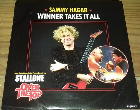 "Sammy Hagar - Winner Takes It All (7"", Single) (CBS)"