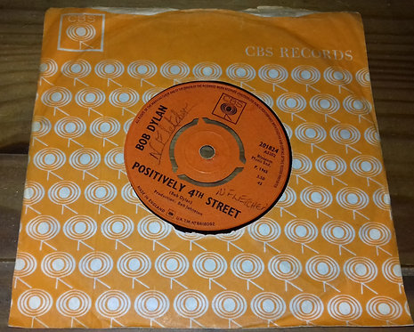 "Bob Dylan - Positively 4th Street (7"", Single, 3-P) (CBS)"