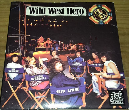 "ELO* - Wild West Hero (7"", Single) (Jet Records, Jet Records)"