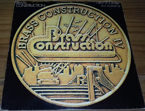 """Brass Construction - Help Yourself / Pick Yourself Up (7"""") (United Artists Recor"""