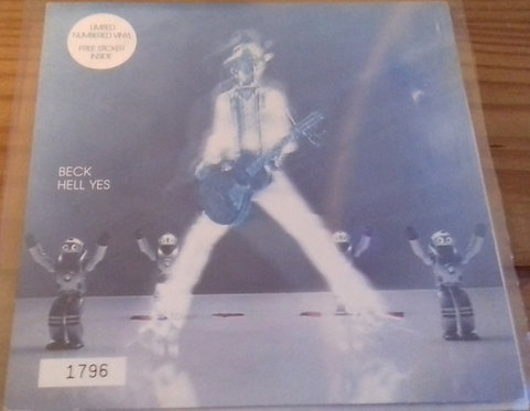 """Beck - Hell Yes (7"""", Ltd, Num) (Interscope Records)"""