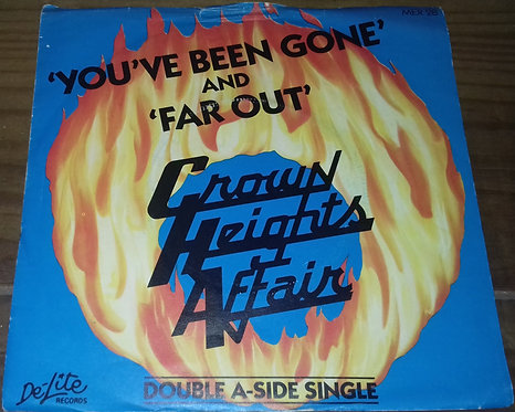 """Crown Heights Affair - You've Been Gone / Far Out (7"""", Single) (De-Lite Records)"""