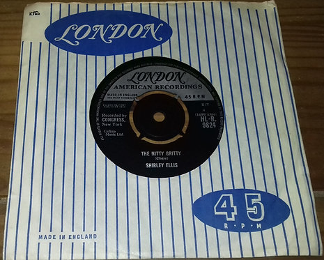 "Shirley Ellis - The Nitty Gritty / Give Me A List (7"", Single) (London Records,"