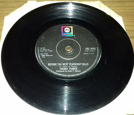 "Freddy Fender (2) - Before The Next Teardrop Falls / Waiting For Your Love (7"","