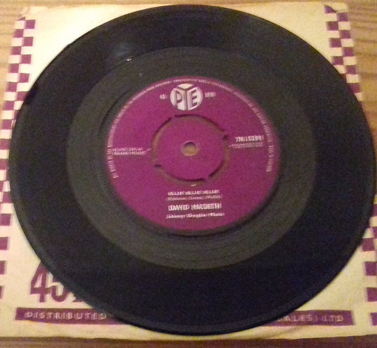 "David MacBeth - Blue Blue Blue (7"") (Pye Records)"