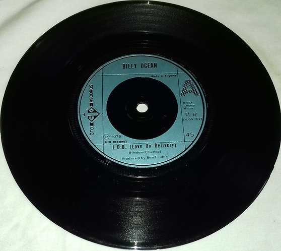 """Billy Ocean - L.O.D. (Love On Delivery) (7"""", Single) (GTO)"""