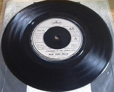 "New York Dolls - Stranded In The Jungle (7"", Single) (Mercury)"