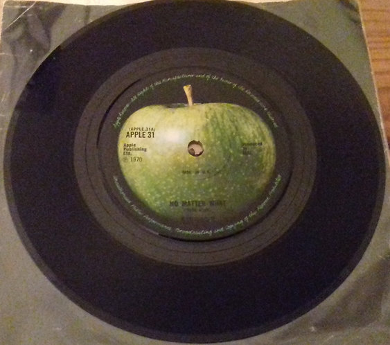 "Badfinger - No Matter What (7"", Single, Sol) (Apple Records)"