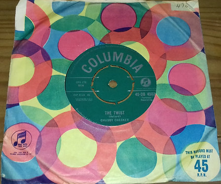 "Chubby Checker - The Twist (7"") (Columbia)"